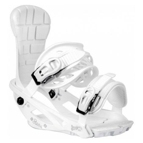 TRANS STAR W white - Women's snowboard binding
