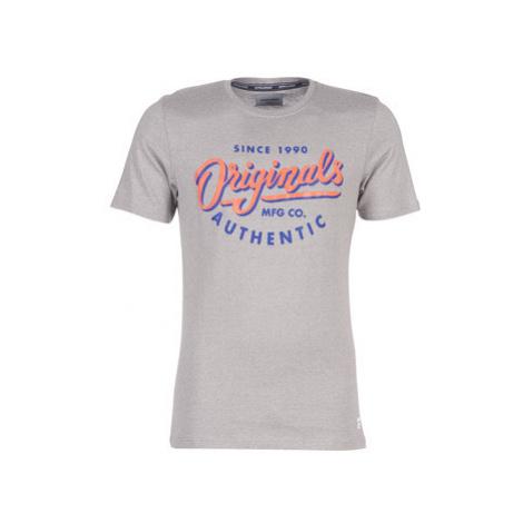 Jack Jones JORQUINN men's T shirt in Grey Jack & Jones