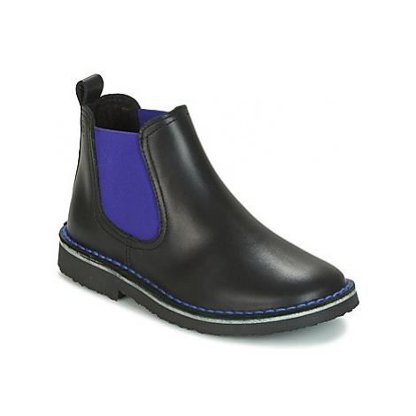 Citrouille et Compagnie HOVETTE boys's Children's Mid Boots in Black