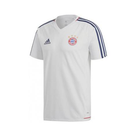 FC Bayern Training Jersey - White Adidas