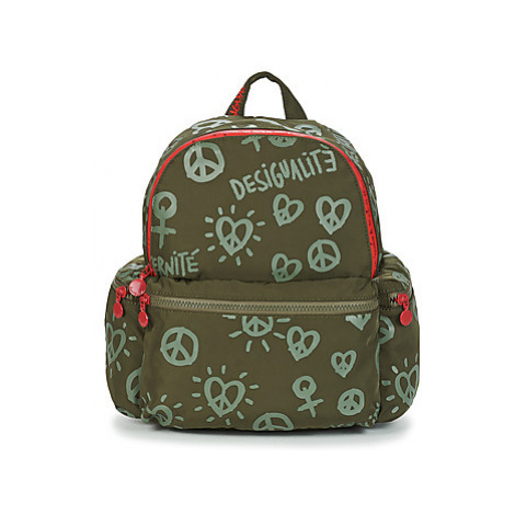 Desigual FULLY OSS MINI women's Backpack in Kaki