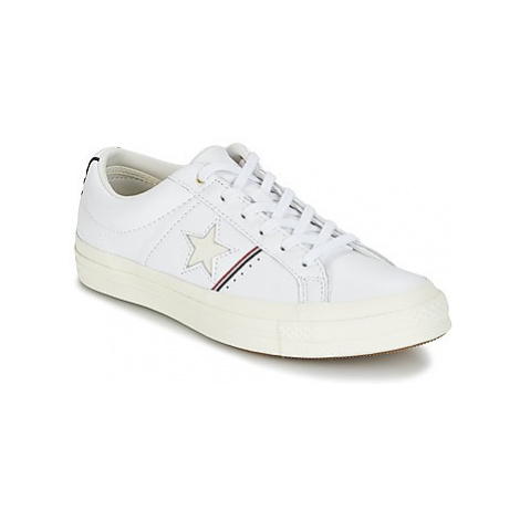 Converse One Star women's Shoes (Trainers) in White