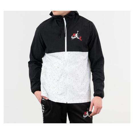 Jordan Classics Windwear Jacket Black/ White/ White/ Gym Red