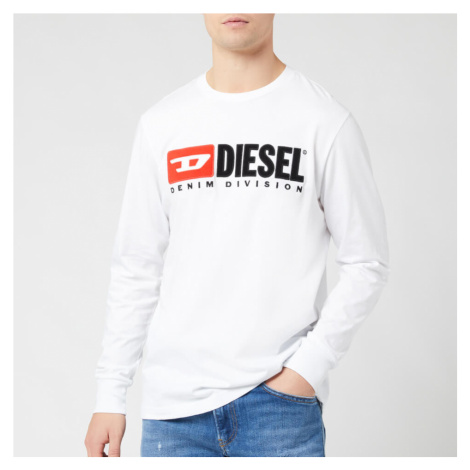 Diesel Men's Division Long Sleeve Top - White