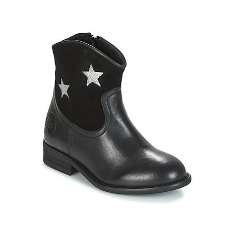 Young Elegant People FARAHI girls's Children's Mid Boots in Black