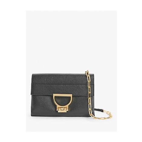 Coccinelle Arlettis Leather Cross Body Bag, Noir