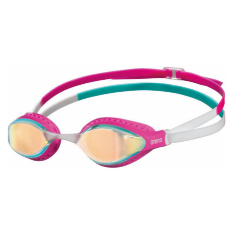 Arena AIRSPEED MIRROR pink - Swimming goggles