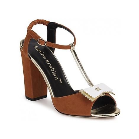 Karine Arabian ABBAZIA women's Sandals in Brown