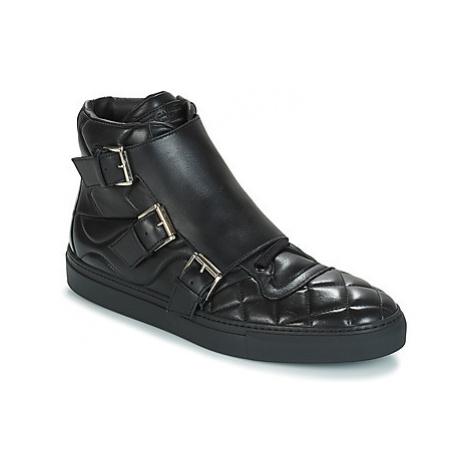 John Galliano ROBOT C men's Shoes (High-top Trainers) in Black