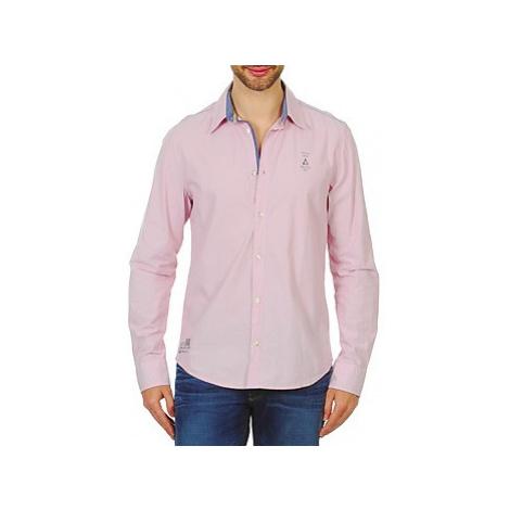 Gaastra STERN men's Long sleeved Shirt in Pink