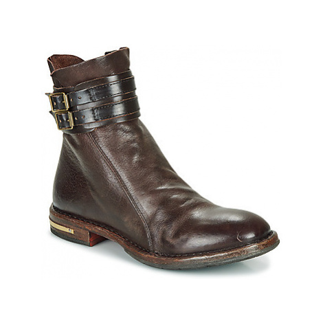 Moma CUSNA EBANO women's Mid Boots in Brown