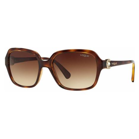 Vogue Eyewear Woman VO2994SB - Frame color: Tortoise, Lens color: Brown, Size 57-18/130