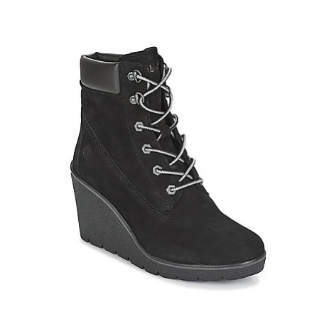 Timberland Paris Height 6in women's Low Ankle Boots in Black