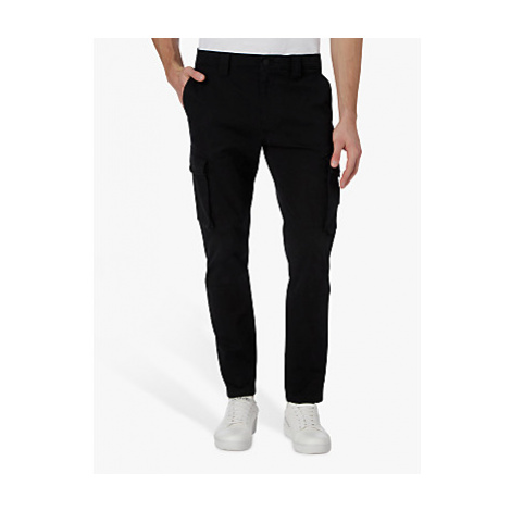 Calvin Klein Jeans Skinny Fit Cargo Trousers, CK Black