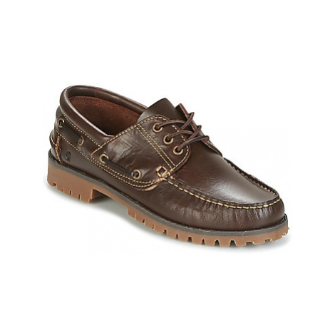 Brown women's loafers