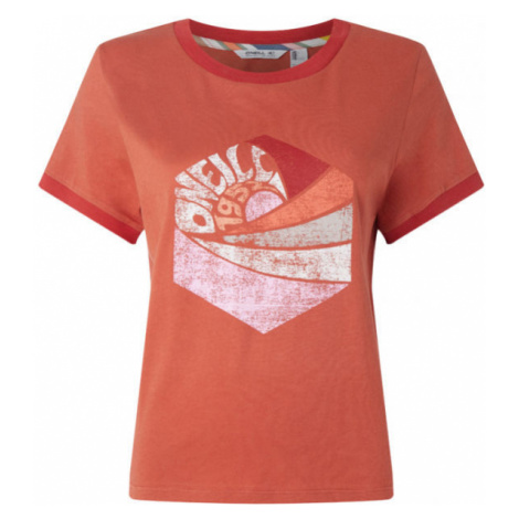 O'Neill LW KATIE T-SHIRT red - Women's T-shirt