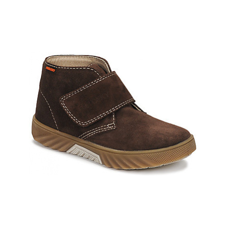 Pablosky 593296 boys's Children's Mid Boots in Brown