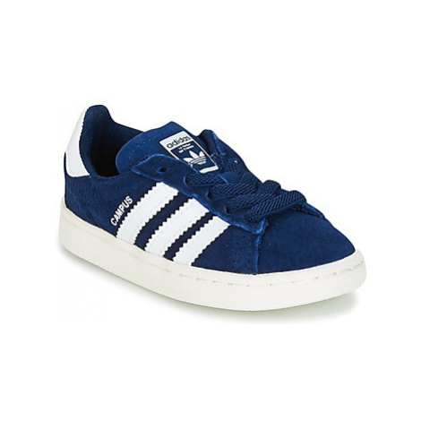 Adidas CAMPUS EL I boys's Children's Shoes (Trainers) in Blue