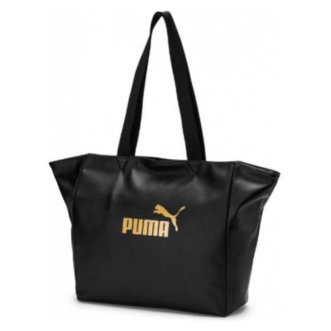Puma CORE UP LARGE SHOPPER WMN black - Women's stylish handbag
