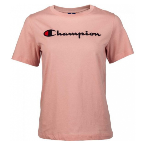 Champion CREWNECK T-SHIRT pink - Women's T-shirt