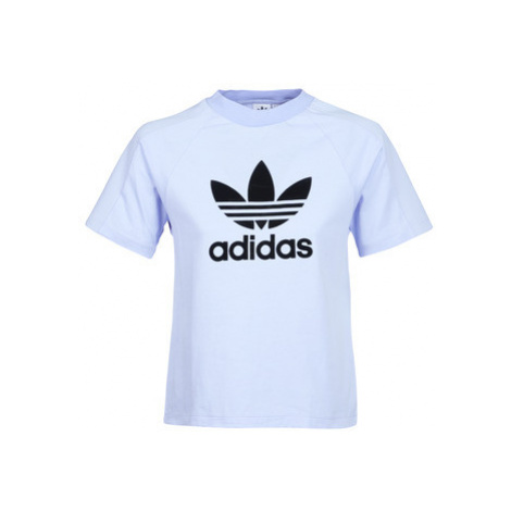 Adidas REGULAR TEE women's T shirt in Blue
