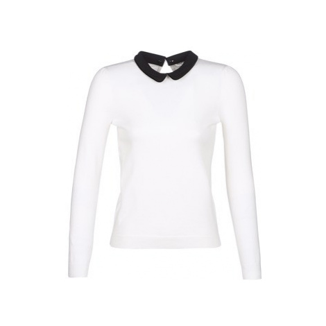 Naf Naf MKLAUDIA women's Sweater in White