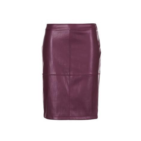 Vila VIPEN women's Skirt in Bordeaux