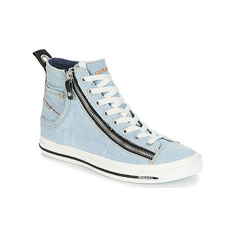 Diesel EXPO-ZIP W women's Shoes (High-top Trainers) in Blue