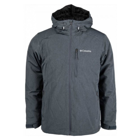 Columbia GATE RACER HEATHER SOFTSHELL dark gray - Men's softshell jacket