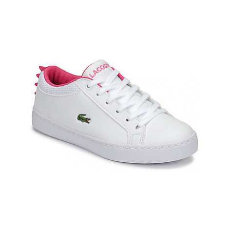 Lacoste STRAIGHTSET 119 1 girls's Children's Shoes (Trainers) in White