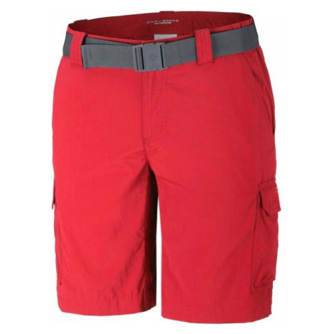 Columbia SILVER RIDGE II CARGO SHORT red - Men's outdoor shorts