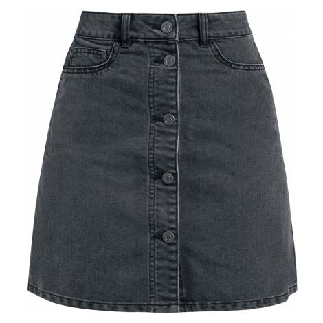 Noisy May - Sunny Short Skater Skirt - Skirt - black