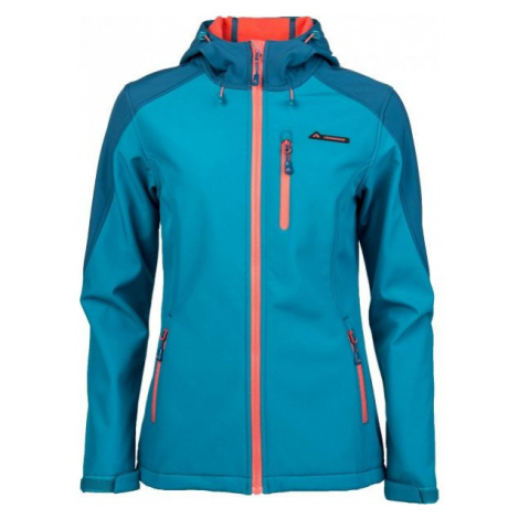Crossroad FLORY blue - Women's softshell jacket