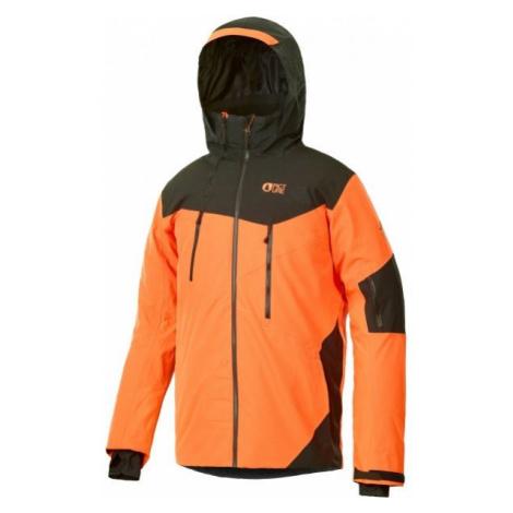 Picture DUNCAN orange - Men's ski jacket