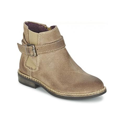 Mod'8 NEL girls's Children's Mid Boots in Beige