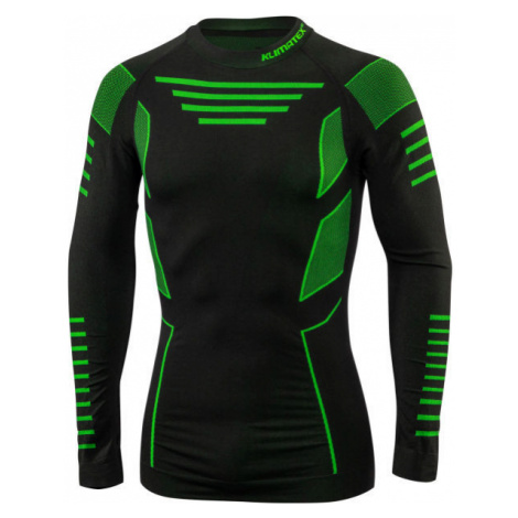 Klimatex CROUL green - Men's functional seamless T-shirt