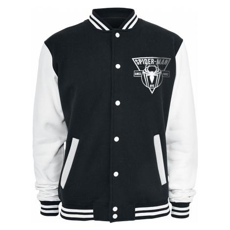 Spider-Man - Logo - College Jacket - black-white