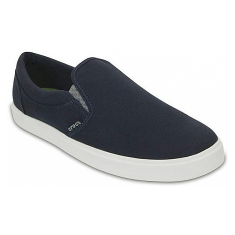 shoes Crocs CitiLane Slip On Sneaker - Navy/White
