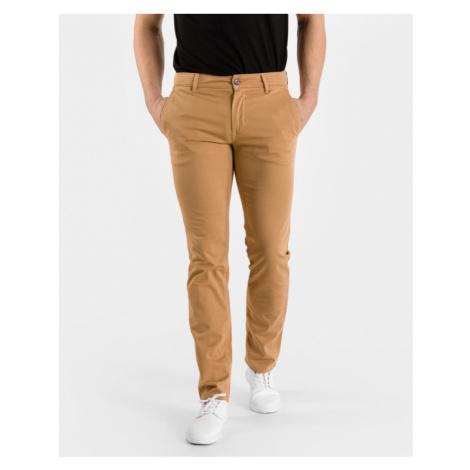 Brown men's trousers