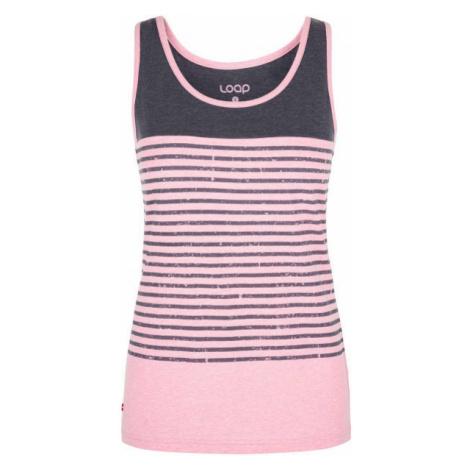 Loap ADMARO pink - Women's tank top