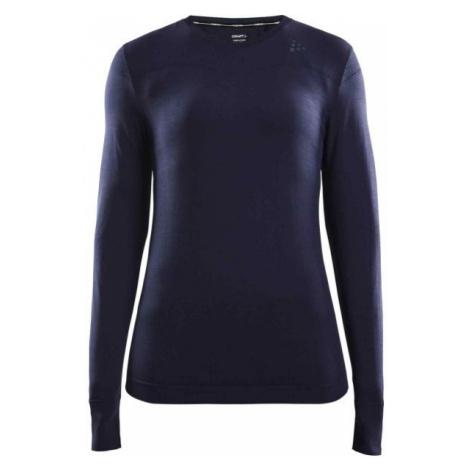 Craft FUSEKNIT COMFORT RN LS W blue - Women's functional T-shirt
