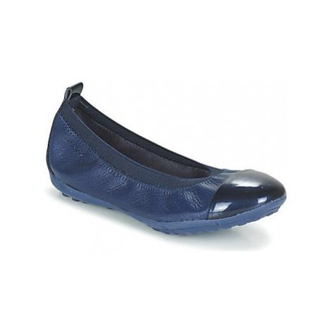 Geox J PIUMA BALL B girls's Children's Shoes (Pumps / Ballerinas) in Blue