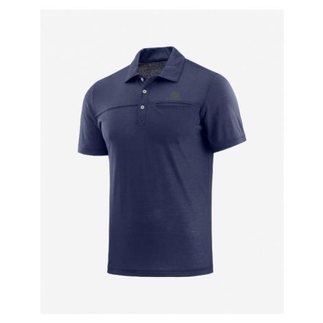 Salomon Polo Shirt Blue