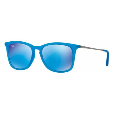 Ray-Ban Rj9063s Unisex Sunglasses Lenses: Blue, Frame: Gunmetal - RJ9063S 701155 48-16