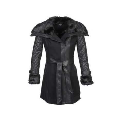 Morgan GEFROU women's Coat in Black