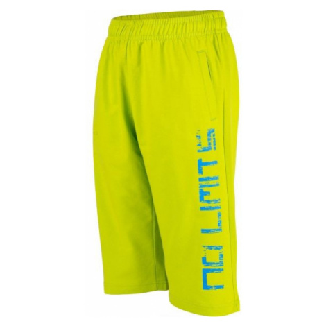 Lewro OMER green - Boys' 3/4 length sweatpants