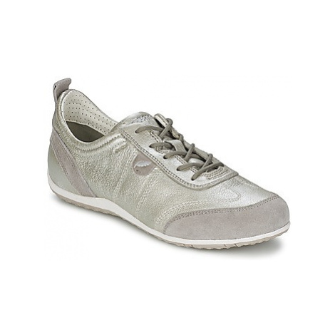 Geox VEGA A women's Shoes (Trainers) in Silver