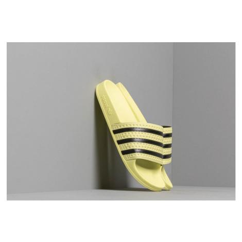 adidas Adilette W Ice Yellow/ Ice Yellow/ Core Black