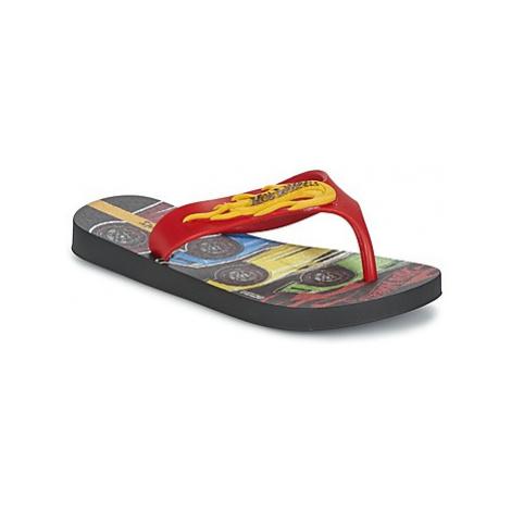 Ipanema HOT WHEELS TYRE boys's Children's Flip flops / Sandals in Red