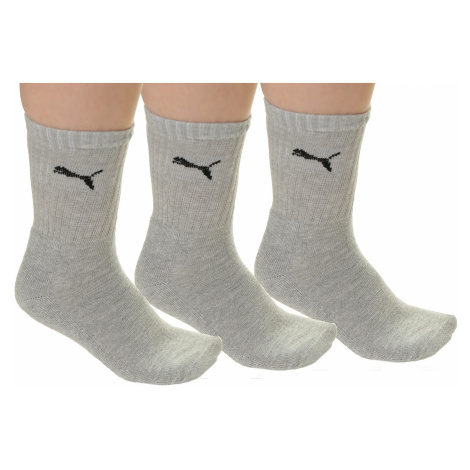 socks Puma 7312400/Sport 3 Pack - Gray